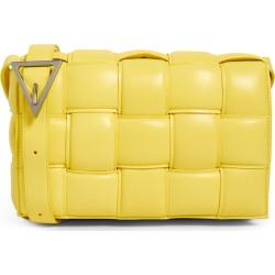 Bottega Veneta Leather Padded Cassette Cross-Body Bag found on Bargain Bro UK from harrods.com