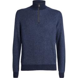 Ralph Lauren Purple Label Cashmere Half-Zip Sweater found on Bargain Bro UK from harrods.com