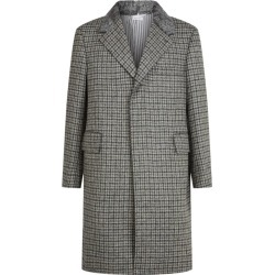 Thom Browne Fur-Trim Overcoat found on Bargain Bro UK from harrods.com