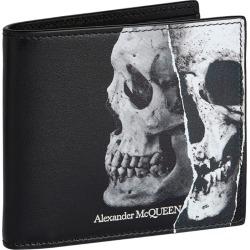 Alexander McQueen Skull Leather Wallet found on Bargain Bro UK from harrods.com