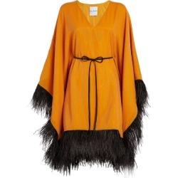 Halpern Sequin-Embellished Mini Kaftan Dress found on MODAPINS from harrods.com for USD $1551.74