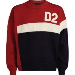 Dsquared2 Colour-Block Logo Knit Sweater found on MODAPINS from Harrods Asia-Pacific for USD $718.34
