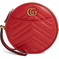 Gucci Leather Marmont Matelassé Wrist Wallet found on MODAPINS from harrods.com for USD $665.55