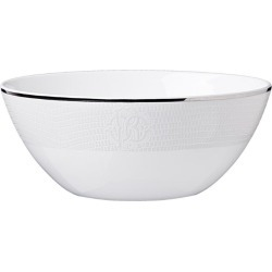 Roberto Cavalli Home Lizzard Platin Soup Bowl (22cm) found on Bargain Bro UK from harrods.com