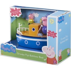 Peppa Pig Grandpa Pig's Bathtime Boat found on Bargain Bro UK from harrods.com