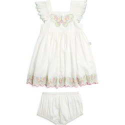 Stella McCartney Kids Butterfly Embroidered Dress and Bloomers Set (3-24 Months) found on Bargain Bro UK from harrods.com