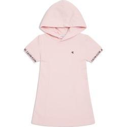 Calvin Klein Kids Cotton Hooded Dress (4-16 Years) found on Bargain Bro UK from harrods.com
