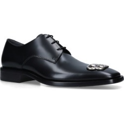 Balenciaga Leather Rim BB Derby Shoes found on Bargain Bro UK from harrods.com