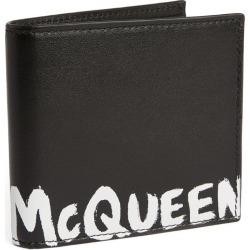 Alexander McQueen Leather Logo Bifold Wallet found on Bargain Bro UK from harrods.com