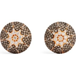 Bee Goddess Rose Gold And Diamond Venus Star Earrings found on GamingScroll.com from Harrods Asia-Pacific for $9844.33