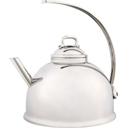 Mauviel Traditional Stainless Steel Kettle found on Bargain Bro UK from harrods.com