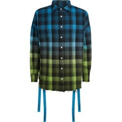 Haculla Ombré Check Logo Shirt found on MODAPINS from Harrods Asia-Pacific for USD $433.80