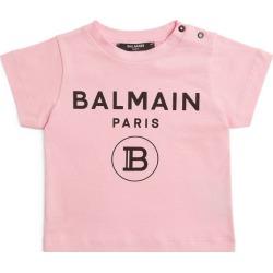 Balmain Kids Cotton Logo T-Shirt (3-24 Months) found on Bargain Bro UK from harrods.com