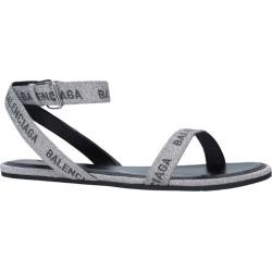 Balenciaga Logo Strap Sandals found on Bargain Bro UK from harrods.com