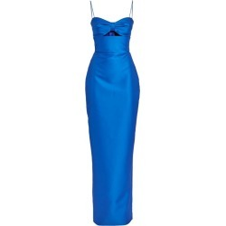 RASARIO Satin Cut-Out Gown found on MODAPINS from harrods.com for USD $577.47