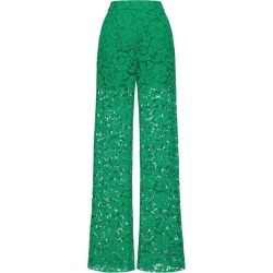 Valentino Lace Wide-Leg Trousers found on Bargain Bro UK from harrods.com