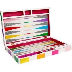 Jonathan Adler Rainbow Chequerboard Backgammon Set found on Bargain Bro UK from harrods.com