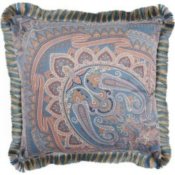 Etro Fringed Paisley Et Poitiers Cushion (60cm x 60cm) found on Bargain Bro UK from harrods.com