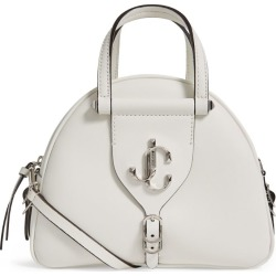 Jimmy Choo Small Leather Varenne Bowling Bag found on Bargain Bro UK from harrods.com
