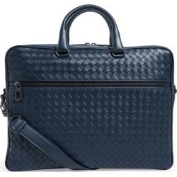 Bottega Veneta Leather Intrecciato Briefcase found on Bargain Bro UK from harrods.com