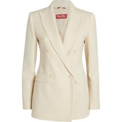 Max Mara Virgin Wool Jacket found on Bargain Bro UK from harrods.com