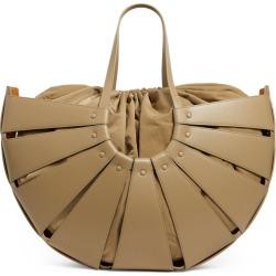 Bottega Veneta Medium The Shell Leather Shoulder Bag found on Bargain Bro UK from harrods.com