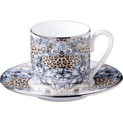 Roberto Cavalli Home Palazzo Teacup (Set of 2) found on Bargain Bro UK from harrods.com