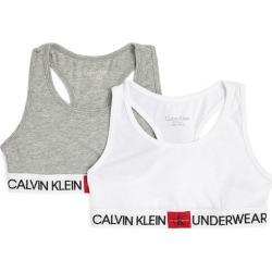 Calvin Klein Kids Pack of 2 Minigram Bralettes (8-16 Years) found on Bargain Bro UK from harrods.com