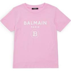 Balmain Kids Monogram T-Shirt (4-16 Years) found on Bargain Bro UK from harrods.com