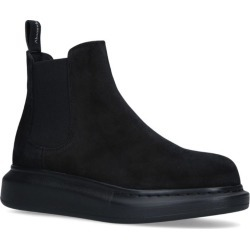 Alexander McQueen Suede Chelsea Hybrid Ankle Boots found on Bargain Bro UK from harrods.com