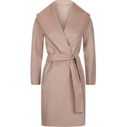 Max Mara Messi Wool Belted Wrap Coat found on Bargain Bro UK from harrods.com