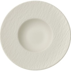 Villeroy & Boch Manufacture Rock Blanc Pasta Plate (29cm) found on Bargain Bro UK from harrods.com