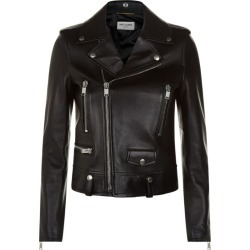 Saint Laurent Leather Biker Jacket found on Bargain Bro Philippines from harrods (us) for $3318.00