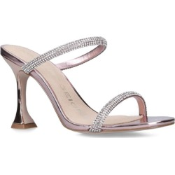 KG Kurt Geiger Embellished Metallic Foster Sandals found on MODAPINS from harrods.com for USD $136.94