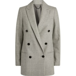 AllSaints Astrid Check Blazer found on MODAPINS from harrods.com for USD $161.57