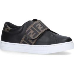 Fendi Kids Low-Top Velcro Sneakers found on Bargain Bro UK from harrods.com
