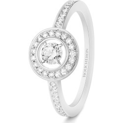 Boucheron White Gold and Diamond Ava Round Ring found on MODAPINS from harrods.com for USD $5911.32