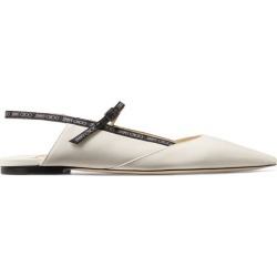 Jimmy Choo Ree Leather Flats found on Bargain Bro UK from harrods.com