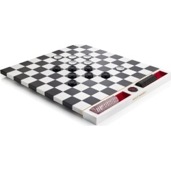 Baccarat Jeux Marble Checkers Set found on Bargain Bro UK from harrods.com