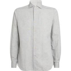Corneliani Cotton-Linen Shirt found on MODAPINS from harrods.com for USD $270.00