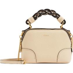 Chloé Mini Leather Daria Cross-Body Bag found on Bargain Bro UK from harrods.com