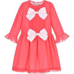 Hucklebones London Pleated Bow-Detail Tea Dress (2-12 Years) found on MODAPINS from harrods.com for USD $204.47