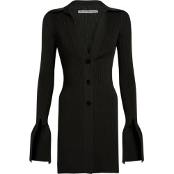 Alexander Wang Ribbed Polo Shirt Cardigan found on MODAPINS from harrods (us) for USD $633.00