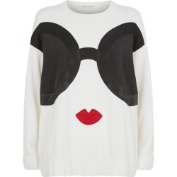 Alice+Olivia Gleeson Stace Face Sweater found on Bargain Bro UK from harrods.com