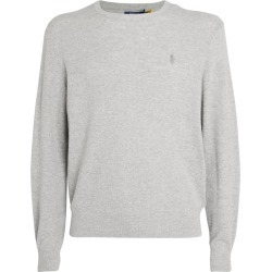 Polo Ralph Lauren Cotton-Linen Knitted Sweater found on Bargain Bro UK from harrods.com