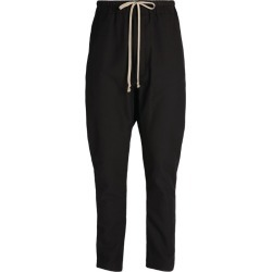 Rick Owens Dropped-Crotch Drawstring Trousers found on Bargain Bro UK from harrods.com