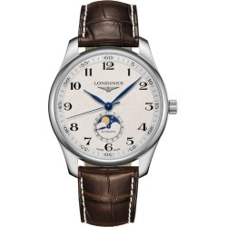 Longines Stainless Steel Master Collection Watch 42mm found on MODAPINS from harrods.com for USD $2793.28