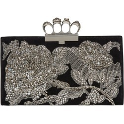 Alexander McQueen Embellished Four-Ring Clutch Bag found on Bargain Bro UK from harrods.com
