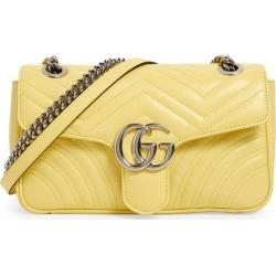 Gucci Leather Marmont Matelassé Shoulder Bag found on Bargain Bro UK from harrods.com