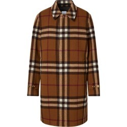 Burberry Wool Check Print Car Coat found on Bargain Bro UK from harrods.com